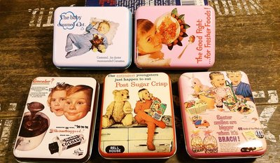 50年代復古風鐵盒 : 收納 鐵盒 復古 工業風 收藏 居家 精品 文具 裝飾 雜貨