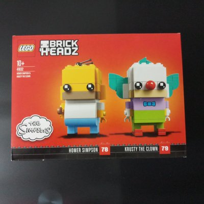 Lego Brickheadz 41632 Homer Simpson (可與 10257 76139 10272 71043 71044 共融)