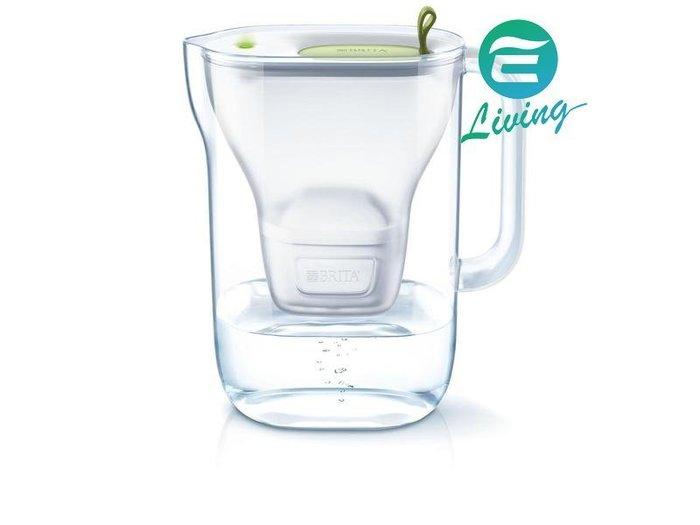 【易油網】BRITA STYLE LIME 2.4L濾水壺+濾心1個 綠色Costco #73510