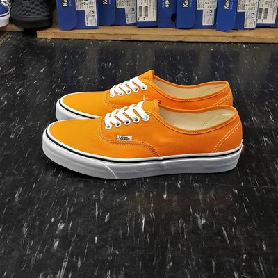 VANS Authentic Dark Cheddar 橘色 橙色 基本款 經典款 帆布 VN0A38EMUKU