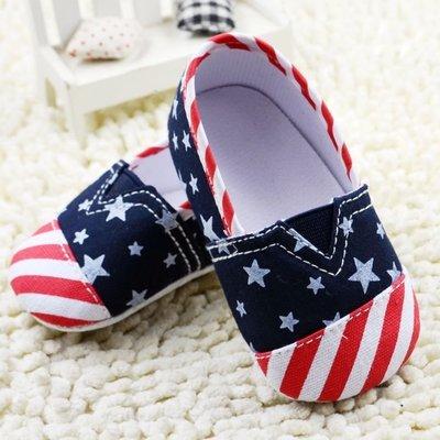 寶貝倉庫~時尚紅藍板鞋~學步鞋~寶寶鞋...