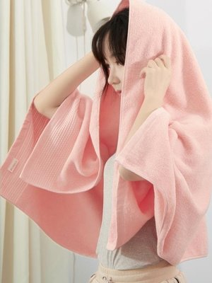 大浴巾純棉成人男女士柔軟吸水家用嬰兒可愛大號毛巾加厚全棉網紅