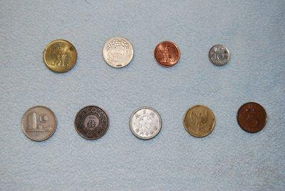 ◎石美社◎雜幣二十五枚 有數個國家