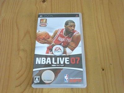 【小蕙館】PSP~ NBA LIVE 07 (純日版)