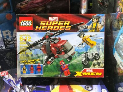 全新 Lego 6866 super heroes x men