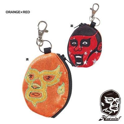 『Haoming』預購 HAOMING × Punk Drunkers 零錢包 Orange x Red
