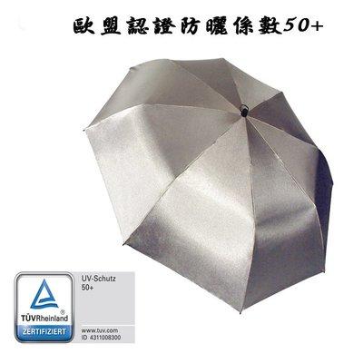 德國[EuroSCHIRM] 全世界最強雨傘 SWING HANDSFREE / 免持健行傘 大(銀)UPF50