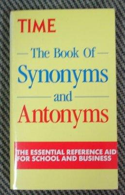 【二手原文小說】 The Book of Synonyms and Antonyms