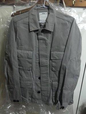 VISVIM 13A/W KILGORE JKT DAMAGED GREY 四口袋 軍裝 外套 灰色 1號 sold