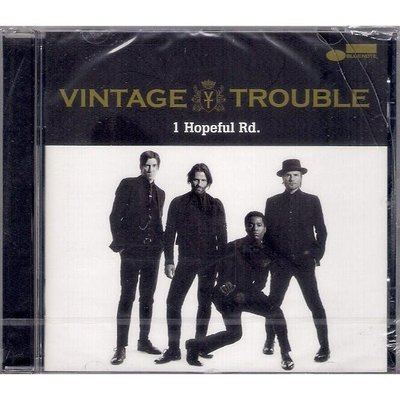 【全新未拆,殼裂】Vintage Trouble 絕佳麻煩樂團:1 Hopeful Rd. 希望大街1號《歐版》