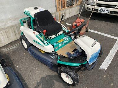 全新原裝日本進口OREC16HP專業駕駛式割草機(川崎引擎)專業耐用適合大面積,適合果園--免運費