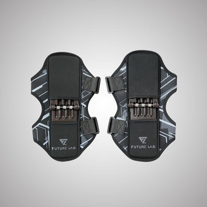 【 FUTURE LAB. 未來實驗室】X-KNEE 原動力強化器 護膝 運動護溪 登山護溪(1對)【JC科技】