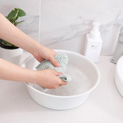 [新品]塑料洗臉盆嬰兒洗衣盆家用大號簡約素雅加厚塑料盆腳盆圓形洗菜盆  〖影時代〗