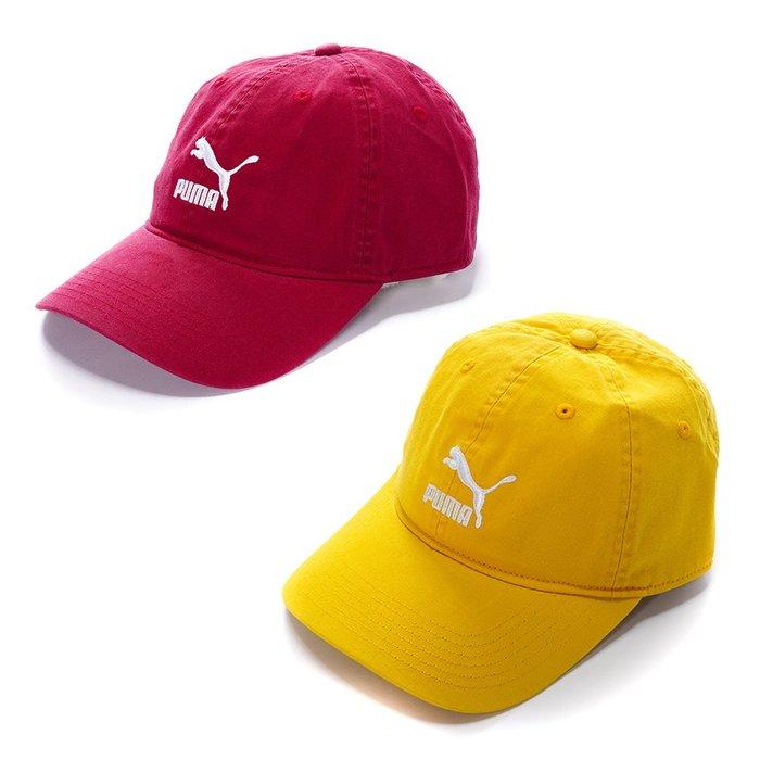【hank40a】PUMA  流行系列 棒球帽 基本款 老帽 百搭02148412/02148413