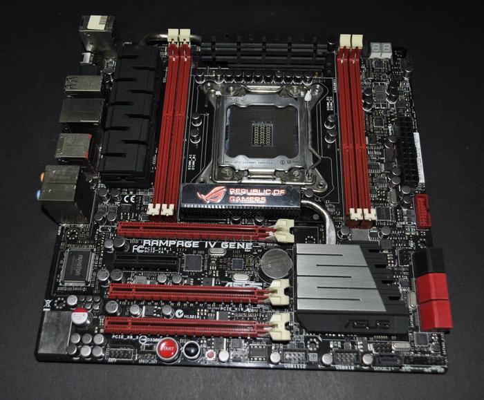 華碩 Rampage IV GENE (2011 X79 DDR3 SATA3 USB3.0) P9X79 PRO 參考