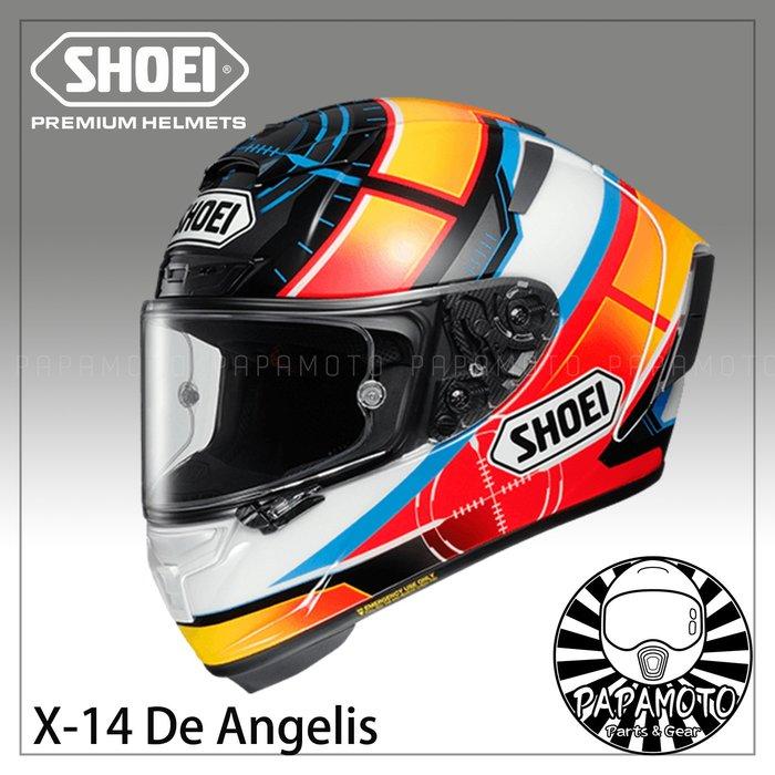 【趴趴騎士】SHOEI X14 De Angelis TC1 ( Alex X-14 X-Fourteen