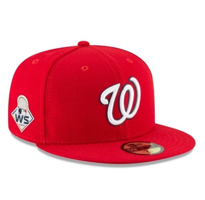 《FOS》New Era WASHINGTON NATIONALS 華盛頓國民 棒球帽 2019世界大賽 大聯盟美國職棒