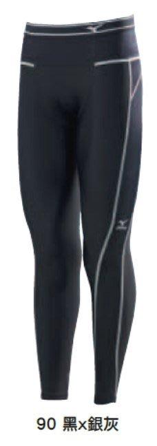 [迦勒]  MIZUNO 美津濃 男款 BG3000R  機能壓縮緊身褲  A60BP-37090  黑x銀灰/S號