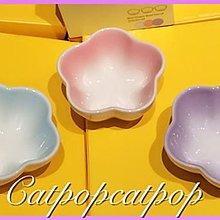 Le Creuset 全新 三小花 set of 3 Mini Flower Bowl