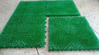 組合式人造草墊  拼裝草皮 DIY組合 30X30CM一片30元塑膠草 景觀假草 短草 人工草皮 排水墊 止滑 台灣製造