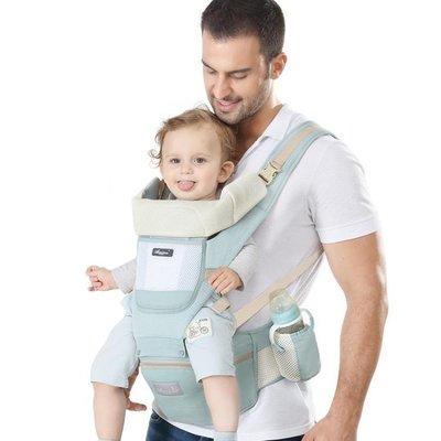 BELOCO 嬰兒背帶 愛心兔嬰兒背帶寶寶腰凳四季多功能BE655