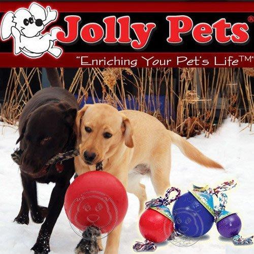 【🐱🐶培菓寵物48H出貨🐰🐹】美國Jolly Pets《結繩浮力球》6吋水陸兩用歡樂球‧超耐咬 特價650元