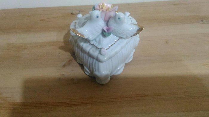瓷器首飾盒(心型)