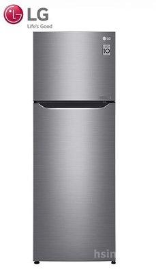 *~新家電錧~*【LG樂金 GN-L397SV】315公升 Smart 直驅變頻上下門冰箱 星辰銀