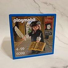 Playmobil 馬丁路德 Luther 500周年限定系列 figure (6099)