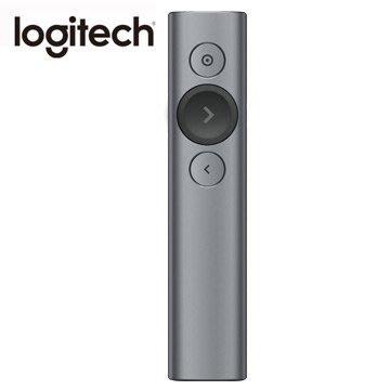 【鳥鵬電腦】Logitech 羅技 Spotlight 無線簡報遙控器 質感灰 快充 藍芽 2.4G 雙重連線 簡報器