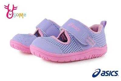 ASICS亞瑟士 AMPHIBIAN BABY SR 2 寶寶涼鞋 小童 護趾涼鞋 運動鞋 A9147#粉紫 OSOME奧森鞋業