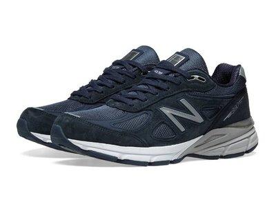 NEW BALANCE 990 慢跑鞋 NB990 藍 運動休閒鞋