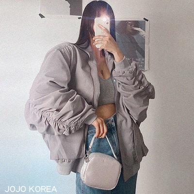 正韓 率性輕質寬鬆夾克外套 3色 設計精品代購 韓國連線 JOJO KOREA 05A312-LAG