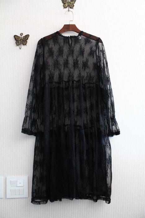 Smile House~特價~正韓空運~夢幻個性薄蕾絲洋裝((POOBKF00328))