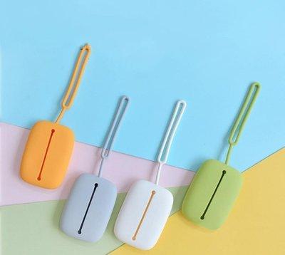 矽膠鑰匙包【NF614】掛繩款 零錢包可放悠遊卡 多功能創意矽膠抽繩鑰匙卡包女包