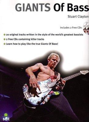 [ 反拍樂器 ] 進口書籍 GIANTS Of Bass 進口貝斯教材 (附CD)