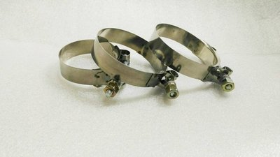 白鐵強化鐵束 64/70/80/90 MM 適合矽膠管 進氣管