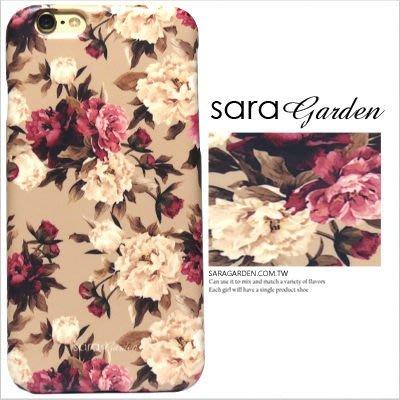 客製化 手機殼 iPhone 7 6 6S Plus【多型號製作】保護殼 低調碎花玫瑰花 G194