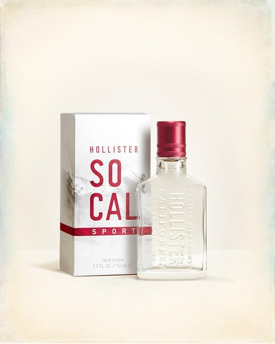 美國百分百【全新真品】Hollister Co 香水 HCO 香氛 So Cal sport 男香 50ML I409