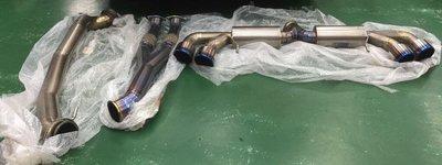 二手部品 Nissan R35 GTR TiTek Exhaust 全段鈦合金排氣 90mm頭段~102mm中尾段鈦合金