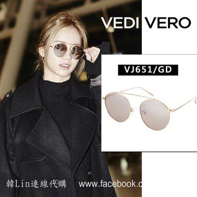 【韓Lin連線代購 】韓國 VEDI BY VEDIVERO- 請回答1988惠利同款 (VJ651/GD) 墨鏡 太陽眼鏡