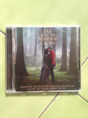 SONY-Craig Armstrong-Far From The Madding Crowd遠離塵囂電影原聲帶(歐洲版