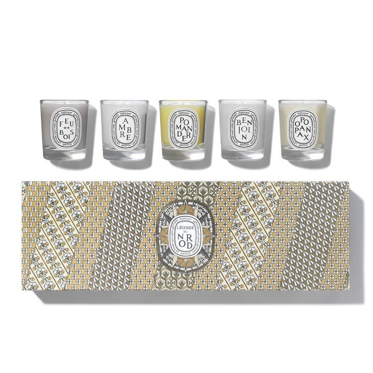 Diptyque 英國代購Légende Du Nord Candle Gift Set (5 x 35g)聖誕禮盒 組