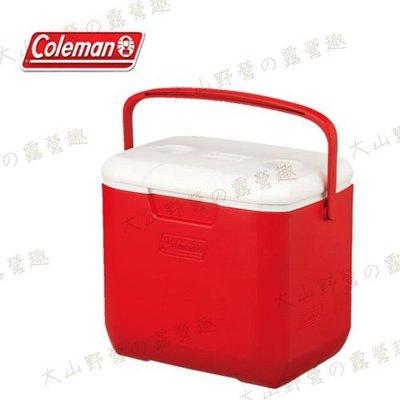 【大山野營】Coleman CM-27862 28L Excursion 美利紅冰箱 手提冰桶 露營冰桶