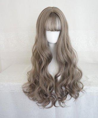 現貨~促銷~特賣~假髮  空氣劉海化妝舞會~SLW18998