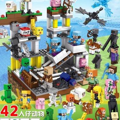 小頑童 LEGO樂高式  將牌 30053 我的世界 Minecraft 礦場 42個人偶 (袋裝) 新品! 現貨!