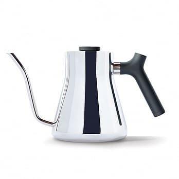 卡拉拉咖啡精品 FELLOW STAGG 不鏽鋼測溫細口手沖壺 V1.2 銀 1L