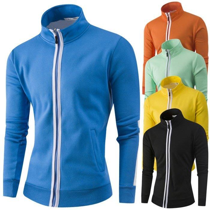 『潮范』 WS09 高品質全棉立領開衫 外貿衛衣 棉質立領外套 夾克 運動外套NRB2260