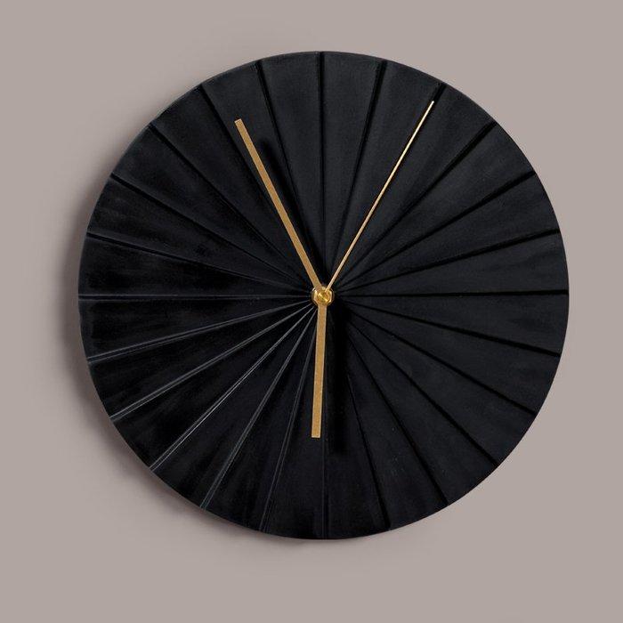 〖洋碼頭〗北歐靜音掛鐘臥室客廳創意折紙陶瓷家用輕奢鐘錶簡約個性時尚時鐘 bhm327