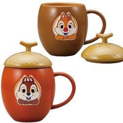 ♥心樂格格♥♫Disney 迪士尼 Chip 'n' Dale [♦奇奇與蒂蒂 馬克杯 茶杯 造型杯 兩入 ]♫全新日版